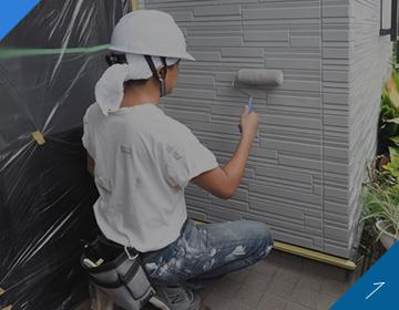 カサタニの外壁塗装